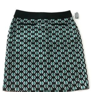 Worthington Womens Size 4 Pencil Skirt Geometric